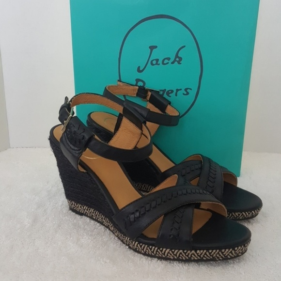 716249271f08 New Jack Rogers Abbey Wedge Sandals